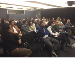 Público asistente a la presentación de 'Cultura de efectividad 2.0'