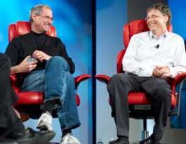 Jobs y Gates