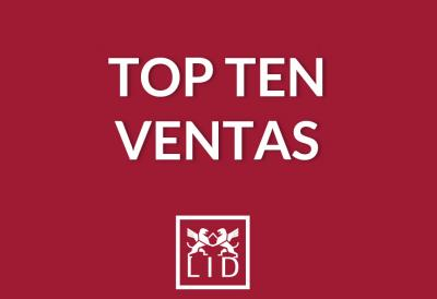 Top ten ventas